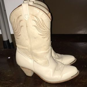 ❤️vintage 1980's🔥Dingo western cowgirl boots❤️🔥